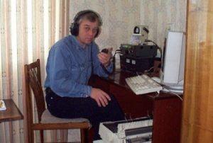 RA4HW in Novokuibyshevsk (Rusland), old man Stan