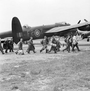 Wie zag de Lancaster crashen?