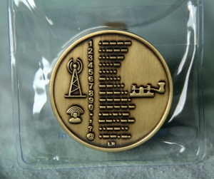 Speciale munt als herinnering aan Morse als Cultureel Erfgoed